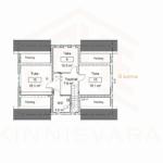 Kahekordne uus maja II korrus Lahe Kinnisvara
