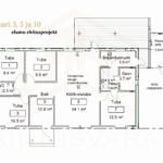 Uus maja Lahe Kinnisvarast Lauri 3,5,10 elamu ehitusprojekt