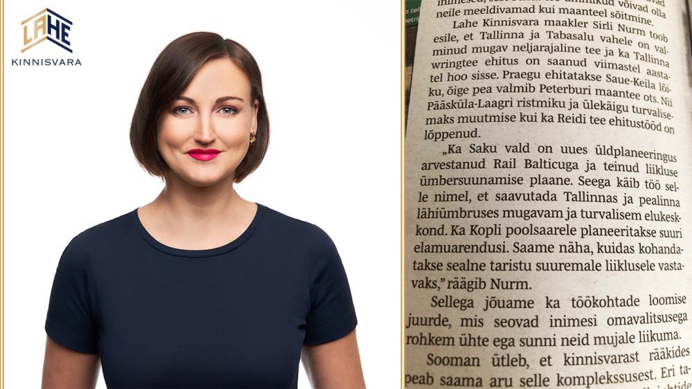Millist elukohta eelistada Tallinnas Sirli Nurm artikkel Lahe Kinnisvara