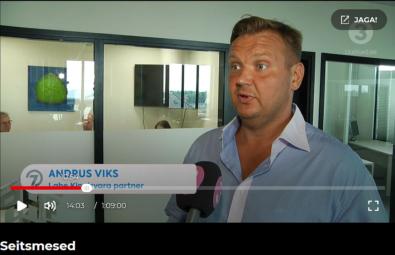 Minikorter Tallinnas-Andrus-Viksi-intervjuu-TV3-Seitsmestele-uudistele