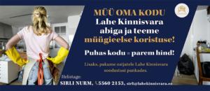 Lahe Kinnisvara müügieelse koristamise kampaania Sirli Nurm
