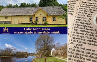 Suvila müük Pärnumaal Lahe Kinnisvara