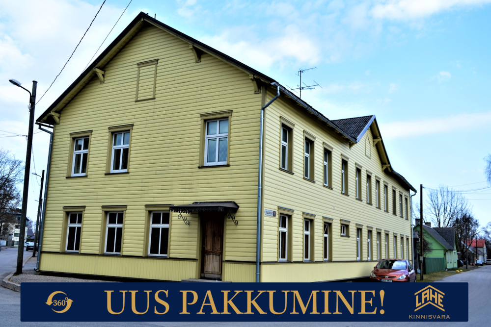 miljööväärtuslikus piirkonnas asuv korter Pärnus